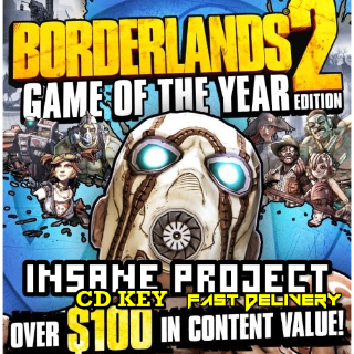 Borderlands 2 GOTY Steam Key GLOBAL