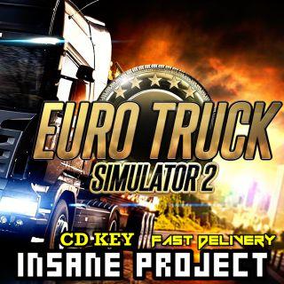 Euro Truck Simulator 2 [ETS 2] Steam Key GLOBAL