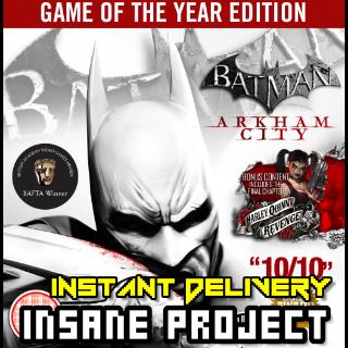 Batman: Arkham City GOTY Edition (PC/Steam) 𝐝𝐢𝐠𝐢𝐭𝐚𝐥 𝐜𝐨𝐝𝐞 / 🅸🅽🆂🅰🅽🅴 𝐨𝐟𝐟𝐞𝐫! - 𝐹𝑢𝑙𝑙 𝐺𝑎𝑚𝑒