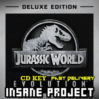 Jurassic World Evolution Digital Deluxe Steam Key GLOBAL