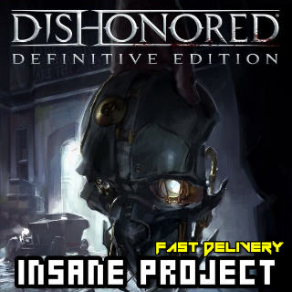 Dishonored - Definitive Edition (PC/Steam) 𝐝𝐢𝐠𝐢𝐭𝐚𝐥 𝐜𝐨𝐝𝐞 / 🅸🅽🆂🅰🅽🅴 𝐨𝐟𝐟𝐞𝐫! - 𝐹𝑢𝑙𝑙 𝐺𝑎𝑚𝑒