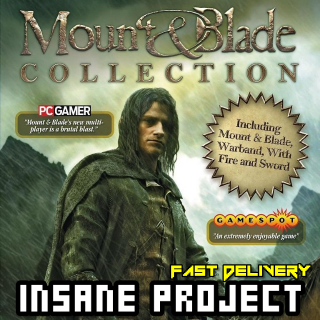 Mount & Blade Full Collection (PC/Steam) 𝐝𝐢𝐠𝐢𝐭𝐚𝐥 𝐜𝐨𝐝𝐞 / 🅸🅽🆂🅰🅽🅴 𝐨𝐟𝐟𝐞𝐫! - 𝐹𝑢𝑙𝑙 𝐺𝑎𝑚𝑒