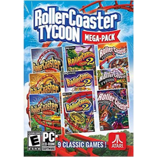 RollerCoaster Tycoon Megapack (9 games) (PC/Steam) 𝐝𝐢𝐠𝐢𝐭𝐚𝐥 𝐜𝐨𝐝𝐞 / 🅸🅽🆂🅰🅽🅴 𝐨𝐟𝐟𝐞𝐫!