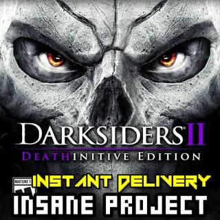 Darksiders II Deathinitive Edition (PC/Steam) 𝐝𝐢𝐠𝐢𝐭𝐚𝐥 𝐜𝐨𝐝𝐞 / 🅸🅽🆂🅰🅽🅴 𝐨𝐟𝐟𝐞𝐫! - 𝐹𝑢𝑙𝑙