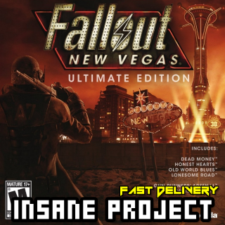 Fallout: New Vegas Ultimate Edition [STEAM][REGION:GLOBAL][KEY/CODE]