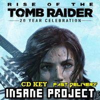 Rise of the Tomb Raider 20 Years Celebration Steam Key GLOBAL