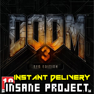 Doom 3 BFG Edition (PC/Steam) 𝐝𝐢𝐠𝐢𝐭𝐚𝐥 𝐜𝐨𝐝𝐞 / 🅸🅽🆂🅰🅽🅴 𝐨𝐟𝐟𝐞𝐫! - 𝐹𝑢𝑙𝑙 𝐺𝑎𝑚𝑒