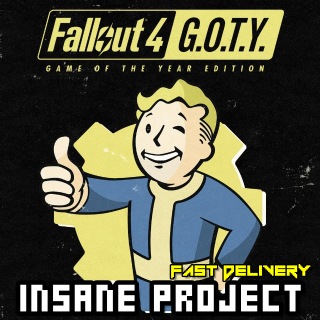 Fallout 4: Game of the Year Edition Steam Key PC GLOBAL[Fast Delivery]