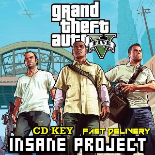 Grand Theft Auto V Rockstar Key[GTA V][GTA 5][gta 5] GLOBAL