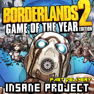 Borderlands 2 GOTY Steam Key GLOBAL Fast Delivery