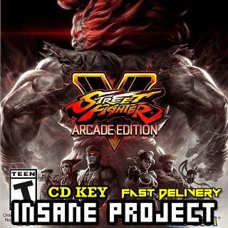 Street Fighter V: Arcade Edition Deluxe Steam Key GLOBAL