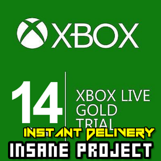 Xbox Live Gold Trial Code XBOX LIVE 14 Days US