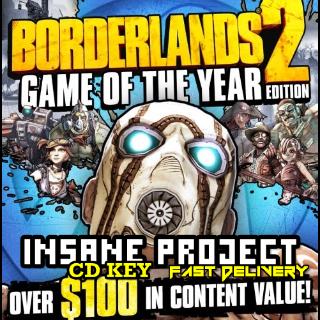 Borderlands 2 GOTY
