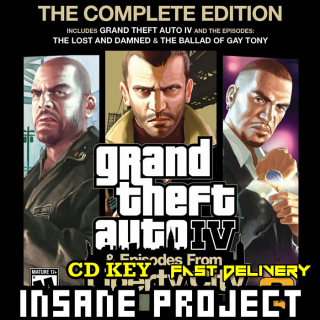 Grand Theft Auto IV 4: Complete Edition Steam Global