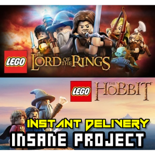 LEGO Lord of the Rings + LEGO The Hobbit ✈INSTANT DELIVERY