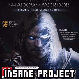 Middle-earth: Shadow of Mordor Game of the Year (PC/Steam) 🅸🅽🆂🅰🅽🅴 - 𝐹𝑢𝑙𝑙 𝐺𝑎𝑚𝑒