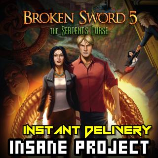 Broken Sword 5 - the Serpent's Curse ✈INSTANT DELIVERY