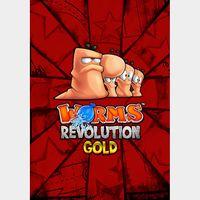 Worms Revolution Gold Edition (PC/Steam) 𝐝𝐢𝐠𝐢𝐭𝐚𝐥 𝐜𝐨𝐝𝐞 / 🅸🅽🆂🅰🅽🅴 𝐨𝐟𝐟𝐞𝐫! - 𝐹𝑢𝑙𝑙