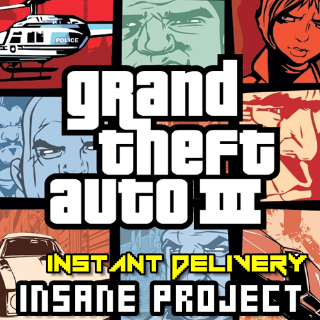 Grand Theft Auto III 3 ✈INSTANT_DELIVERY