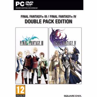 Final Fantasy III & IV (PC/Steam) 𝐝𝐢𝐠𝐢𝐭𝐚𝐥 𝐜𝐨𝐝𝐞 / 🅸🅽🆂🅰🅽🅴 𝐨𝐟𝐟𝐞𝐫! - 𝐹𝑢𝑙𝑙 𝐺𝑎𝑚𝑒