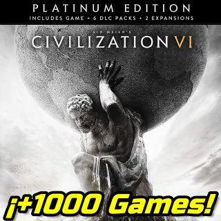 Sid Meier's Civilization VI Platinum Edition Steam Key GLOBAL