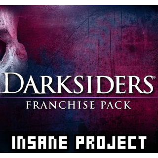 Darksiders Franchise Pack (PC/Steam) 𝐝𝐢𝐠𝐢𝐭𝐚𝐥 𝐜𝐨𝐝𝐞 / 🅸🅽🆂🅰🅽🅴 𝐨𝐟𝐟𝐞𝐫!