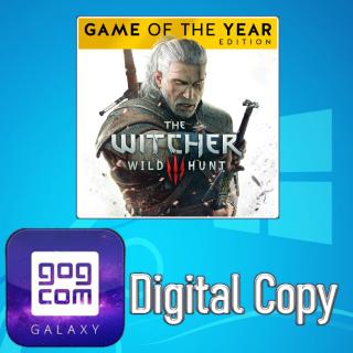 The Witcher 3 Wild Hunt GOTY (Digital GOG Galaxy Key for Windows PC)