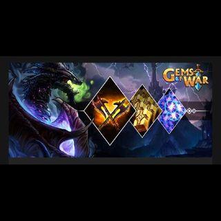 Gems Of War: Shadow Dragon Starter Pack