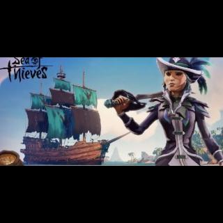 Sea of Thieves: Nightshine Parrot Bundle (Microsoft Perk)