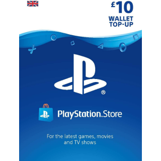 £10.00 PlayStation Store (AUTO DELIVERY)