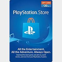 $20.00 PlayStation Store (AUTO DELIVERY) (US)