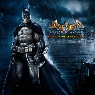 Batman: Arkham Asylum GOTY (Instant Delivery)   Steam