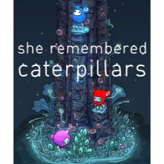 She Remembered Caterpillars (Instant Delivery) | Steam