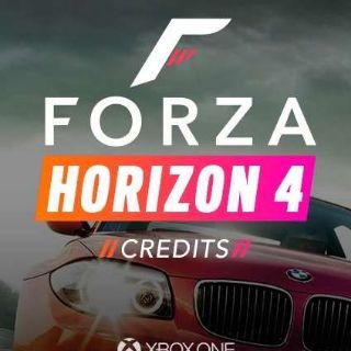 Forza Horizon 4 Credits 50 Mil