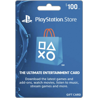 100$ PSN Gift Card-Instant Delivery US🇺🇸