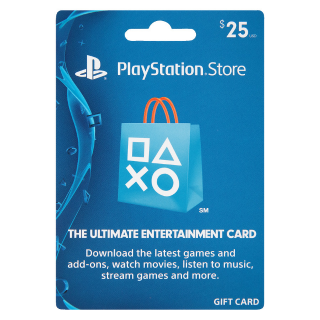 25$ PSN Gift Card-Instant Delivery