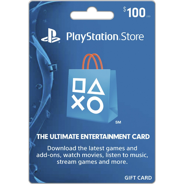 100$ PSN Gift Card-Instant Delivery US
