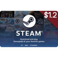 $1.2 Steam Gift Card - Instant Delivery
