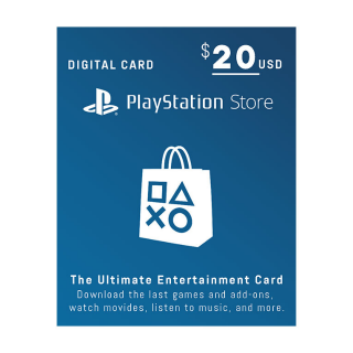 $20 PlayStation Store - Email Delivery - Auto
