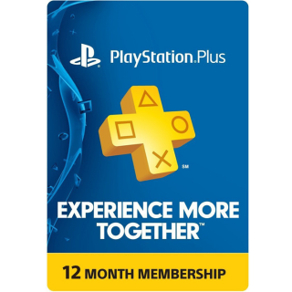 PlayStation Plus 1 Year - US - Great Price