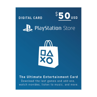 $50 PlayStation Store - Email Delivery - Auto