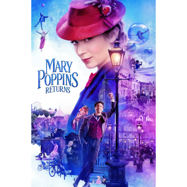 Mary Poppins Returns| Movies Anywhere - HD