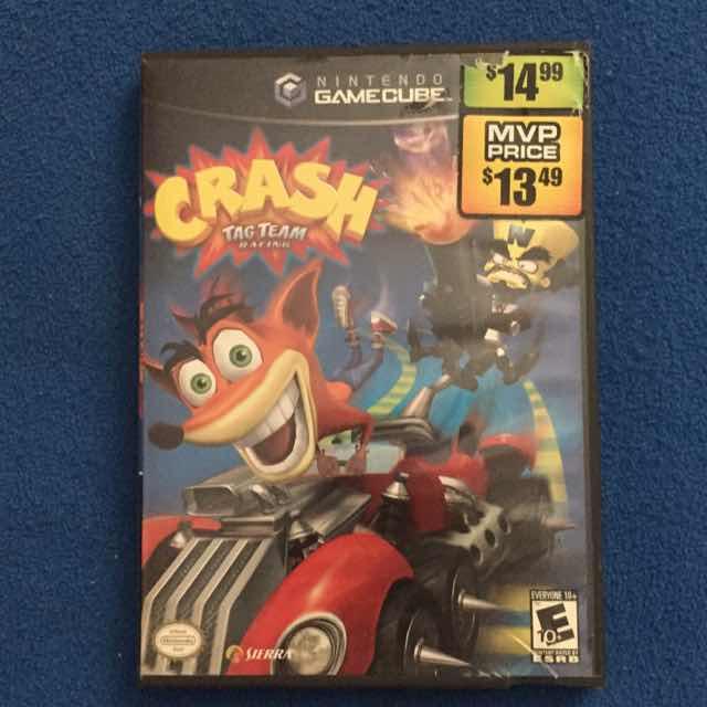 Crash: Tag Team Racing - GameCube Games (Good
