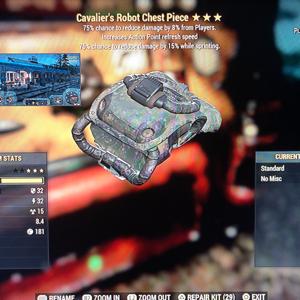 Apparel | assassin powered cavaliers robot chest