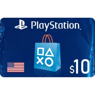 $10.00 PlayStation Store - (USA INSTANT)