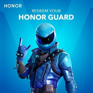 Code | Honor Guard Fortnite