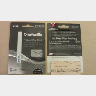 $8 OneVanilla Mastercard Gift Card - Other Geschenkkarten - Gameflip