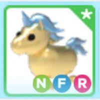 Pet   NFR GOLDEN UNICORN REBOR