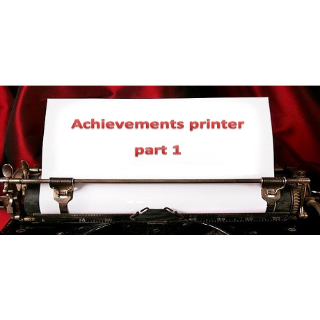 Achievements printer part 1  Steam Key Instant 