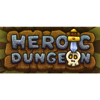 Heroic Dungeon Game + OST  Steam Key Instant 